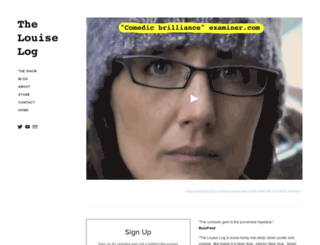 thelouiselog.com screenshot