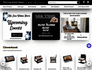 thelowvisioncenter.com screenshot