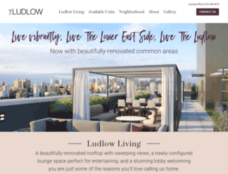 theludlownyc.com screenshot