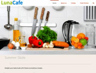 thelunacafe.com screenshot
