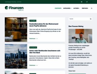 thema.finanzen-weblog.de screenshot