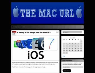 themacurl.wordpress.com screenshot