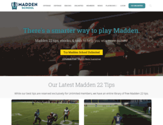 themaddenlab.com screenshot