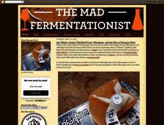 themadfermentationist.com screenshot