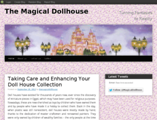 themagicaldollhouse.blog.com screenshot