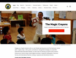 themagiccrayons.com screenshot