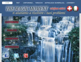 themagicmoment.it screenshot