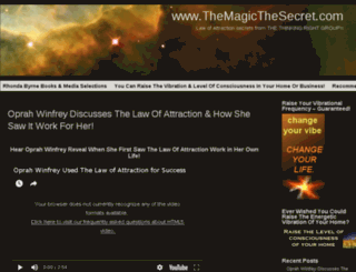 themagicthesecret.com screenshot