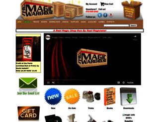 themagicwarehouse.com screenshot