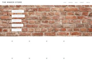 themakerstore.com screenshot