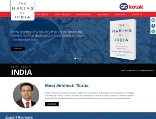 themakingofindia.com screenshot