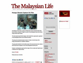 themalaysianlife.blogspot.com screenshot