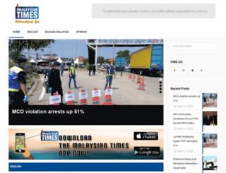 themalaysiantimes.com.my screenshot