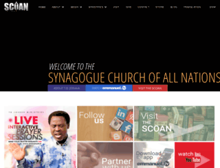 themaninthesynagogue.org screenshot
