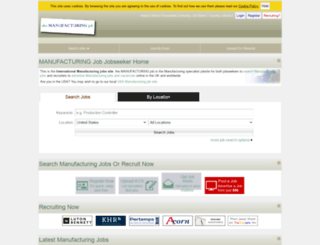 themanufacturingjob.com screenshot