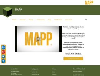 themapp.com screenshot