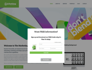 themarketingfactory.com.au screenshot