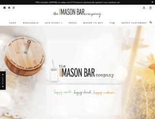 themasonbarcompany.com screenshot