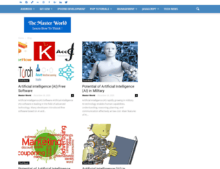 themasterworld.com screenshot