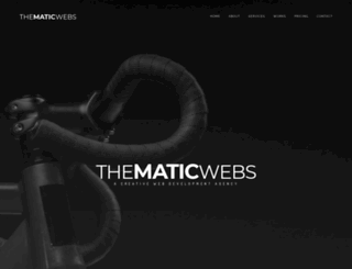 thematicwebs.com screenshot