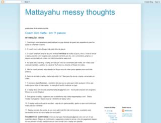 themattayahu.blogspot.com.br screenshot