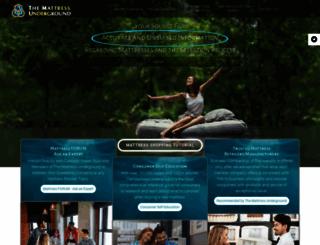 themattressunderground.com screenshot