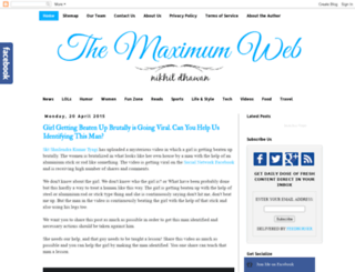 themaximumweb.blogspot.in screenshot