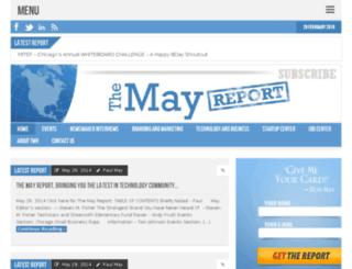 themayreport.com screenshot
