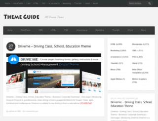 theme-guide.com screenshot