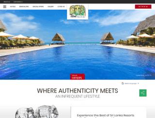 theme-resorts.com screenshot