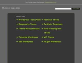 theme-wp.org screenshot