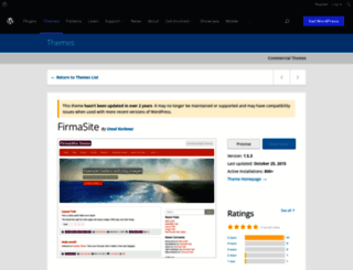theme.firmasite.com screenshot