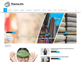 theme.fm screenshot