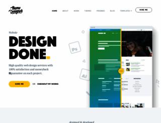 themedesigner.in screenshot