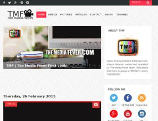 themediafever.com screenshot