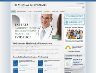 themedicalroundtable.com screenshot