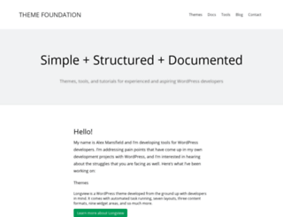 themefoundation.com screenshot