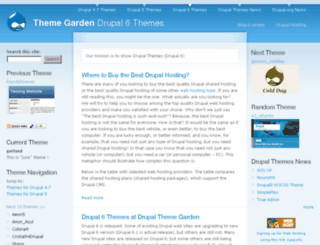 themegarden.org screenshot
