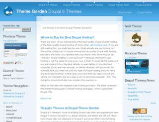 themegarden.org screenshot