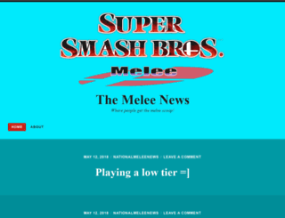 themeleenews.wordpress.com screenshot