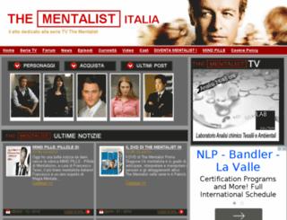 thementalist-italia.com screenshot