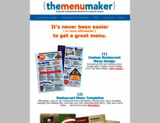 themenumaker.com screenshot