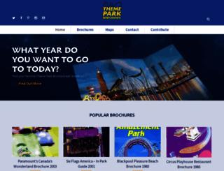 themeparkbrochures.net screenshot