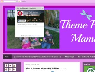 themeparkmama.blogspot.com screenshot