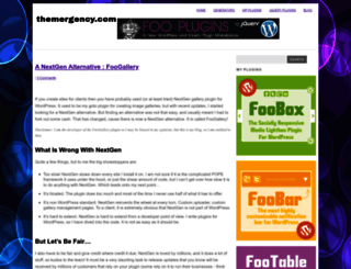 themergency.com screenshot