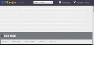 themes.cell-designs.com screenshot