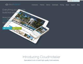 themes.cloudhotelier.com screenshot