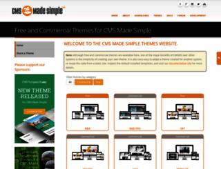 themes.cmsmadesimple.org screenshot