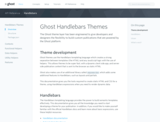 themes.ghost.org screenshot