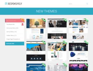 themes.responsively.com screenshot